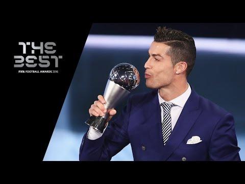 THE BEST FIFA MEN'S PLAYER 2016 - Cristiano Ronaldo WINNER (видео)