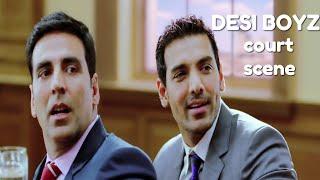 Video Desi Boyz Comedy Court Scene | Akshay Kumar | John Abraham | Sanjay Dutt | Omi Vaidya | Anupam Kher MP3, 3GP, MP4, WEBM, AVI, FLV November 2018