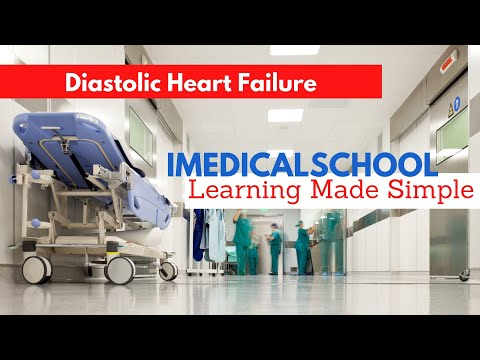 Medical School – Heart Failure with Preserved Ejection Fraction (Diastolic Heart Failure)