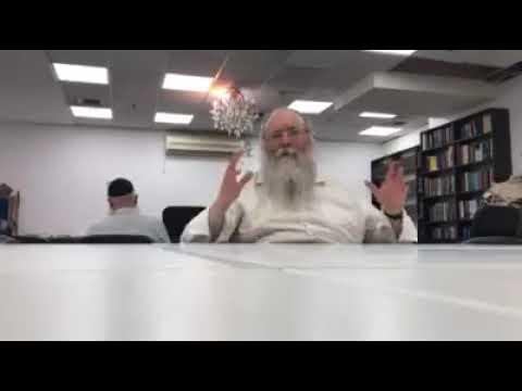 דבר מלכות בהעלותך עם הרב חיים לוי יצחק גינזבורג