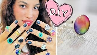 DIY: Glue Rings?! - YouTube