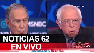 Activistas se pronuncian por debate de los precandidatos demócratas – Noticias 62 - Thumbnail