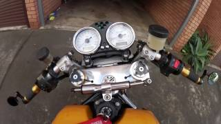 9. Engine start up of a 2006 Ducati Sportclassic Sport 1000