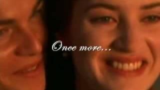 Celine Dion - My Heart Will Go On (TITANIC) Lyrics on screen!!