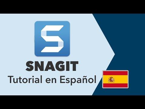 Tutorial Snagit 2018 en español · Anota tus imágenes de manera profesional
