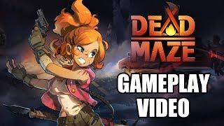 Новое геймлейное видео Dead Maze