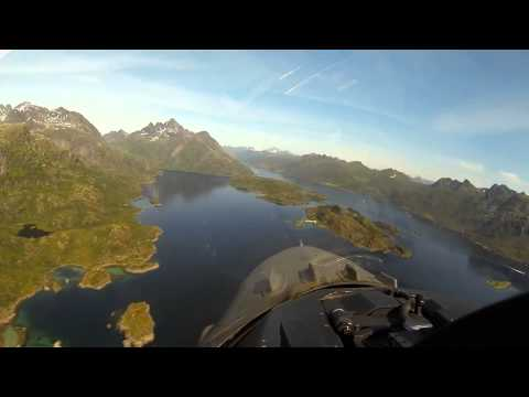 Norway looks from an F16