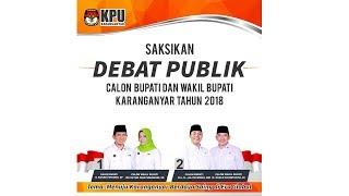 Video Debat pemilihan bupati Karanganyar 2018 MP3, 3GP, MP4, WEBM, AVI, FLV Mei 2018