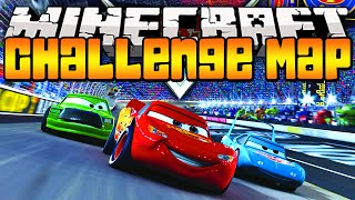 Minecraft Cars! Radiator Springs Map PVP Challenge w/Lachlan&The Pack!