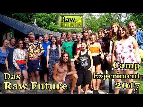 Raw Future Camp Experiment - 1 Woche ohne Smartphone beim Rohkost Vegan Festival