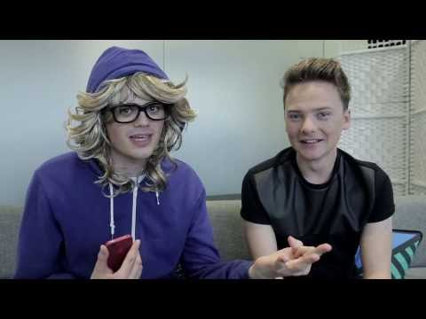 MAYNARD - Becca somehow managed to convince Conor Maynard to sit down so she can fan girl straight to his face. Lord help us all... Part two with Conor! : http://www.y...
