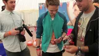 T4 On The Beach 2012 Conor Maynard & Little Mix Get Tricked