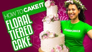 Video Delicious Spring Floral Tiered Cake for Mother's Day   How To Cake It   Yolanda Gampp MP3, 3GP, MP4, WEBM, AVI, FLV Maret 2019