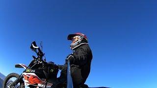 7. KTM 690 Enduro Vlog Ep 3   Fall Single Track Enduro Ride