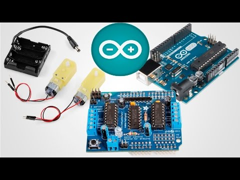 Search Result Youtube Video Arduino Motor Shield Tutorial