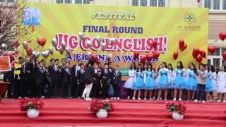 Học sinh THCS Nam Trung Yên thả bóng - Festival tiếng Anh - IIG Academy