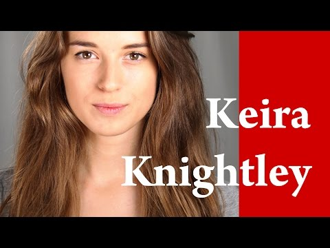KEIRA KNIGHTLEY MAKEUP TUTORIAL Coco Chanel Mademoiselle Commercial on Tjasa Deu