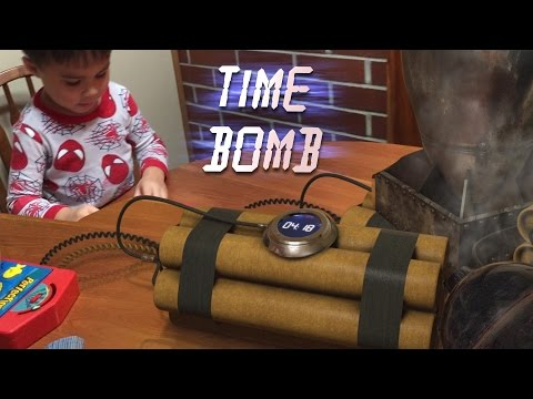 Action Movie Kid Time Bomb