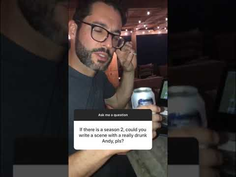 Queen America - We will see Andy drunk in season 2?