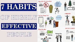 7 Habits Of Highly Effective People By Stephen Covey Animated Book Review