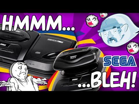 Sega CD e Sega 32X  - POR QUE NÃO DEU CERTO? (História Completa)