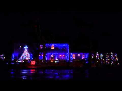 Christmas House in Dennis MA - I Am Santa Claus (Ironman Parody)