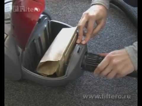 Как заменить мешок в пылесосе самсунг