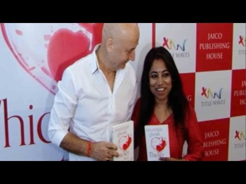 Anupam Kher At The Book Launch Of Thicker Than Blo
