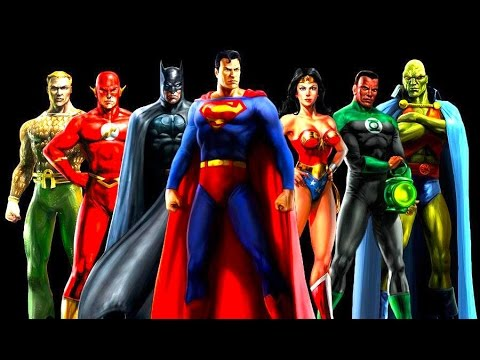 Justice League Complete Movie DC Heroes Superman Flash Batman Green Lantern