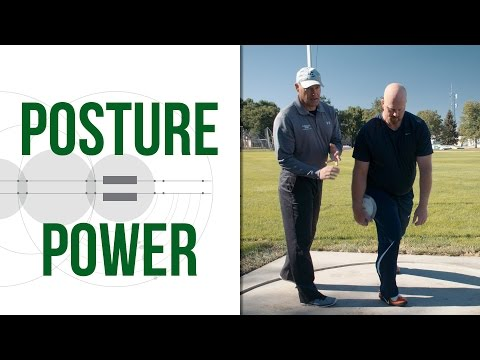 Discus Throw Technique (the Stand Throw) - Posture = Power
