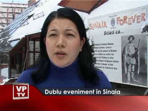 Dublu eveniment în Sinaia