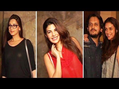 Jacqueline Fernandez, Aditi Rao Hydari & Others At Screening Of Film Hamri Adhuri Kahani