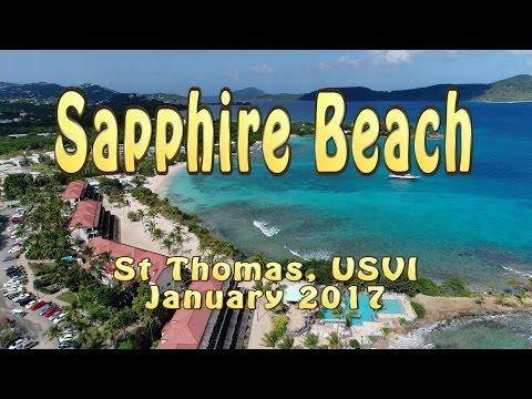 Sapphire Beach 4k Drone