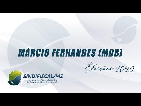 Entrevista com o candidato Márcio Fernandes (MDB)