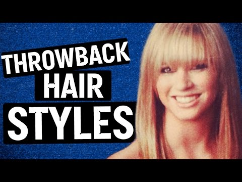90s Hairstyles & Accessories (Throwback)