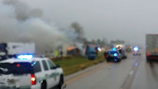 West Memphis (AR) United States  city pictures gallery : I-40, West Memphis, AR truck crash