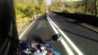 10. GoPro HD: SUZUKI GSXR 600 20th Anniversary Thunder Sprint Ride Out 2013