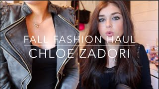 TRY ON FALL FASHION HAUL: LookbookStore Choies OASAP Sheinside Yesstyle | Chloé Zadori