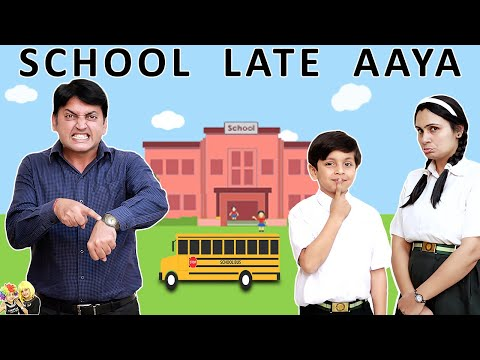 SCHOOL LATE AAYA #Comedy Types of students | Aayu and Pihu Show