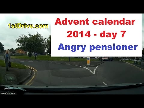 Angry Pensioner - Christmas Advent calendar 2014 day 7
