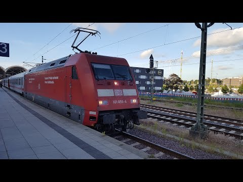 Nacht IC in Kiel Hbf: IC479 Basel Bad Bf
