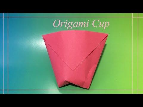 Как сделать стаканчик оригами смотреть видео без sms на портале ВидеоСПарк.рф