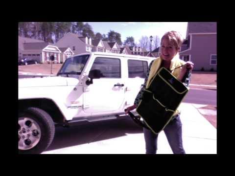Car Back Seat Organizer by Carnizer