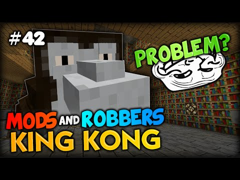 Cops - Join me, SkyDoesMinecraft, SimonHDS90, Bashurverse and Kyle in today's HILARIOUS episode of Minecraft Modded Cops and robbers with the KING KONG mod! I've built a special parkour course in...