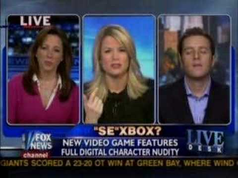It has been ten years since Fox News thought Mass Effect was a space sex simulator.
