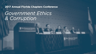 Click to play: Government Ethics and Corruption - Event Audio/Video