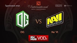 OG vs Na'Vi, game 2