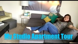 Hey out there! Thank you so much for watching my 475 square foot studio apartment tour. I hope you enjoyed the video! I want to ...