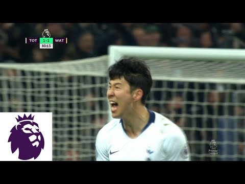 Video: Heung-Min Son brings Tottenham level with powerful strike v. Watford | Premier League | NBC Sports