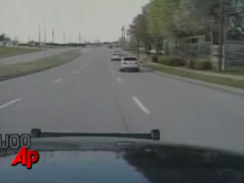 Raw Video: Dash Cam Captures Cop Car Crash